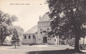 BATH , Maine , 1930s ; Public Library
