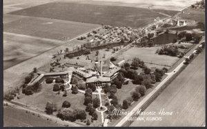 Illinois SULLIVAN Aerial View of Illinois Masonic Home RPPC Real Photo Postcard