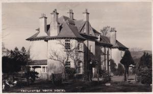 Crowcombe Somerset Youth Hostel Hotel Real Photo Postcard