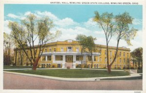 BOWLING GREEN, Ohio, 1910-30s; Shatzell Hall, Bowling Green State College
