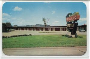 Redwood Motel La Crosse Wisconsin postcard