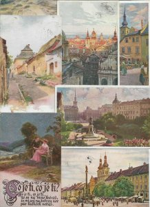 Czech Republic Postcard Lot of 24 Illustrated Artist Signed  01.01