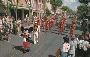 The Disneyland Band Disneyland California