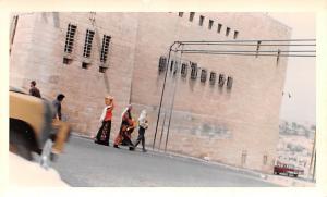 Jordan Old Vintage Antique Post Card City jail Bethlehem Non Postcard Backing