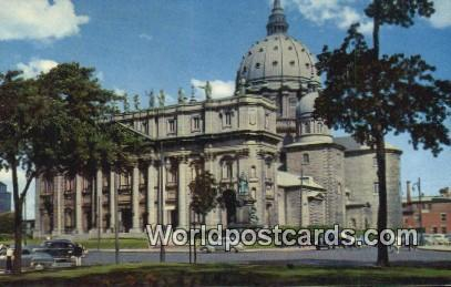 Montreal Canada, du Canada St James Cathedral  St James Cathedral