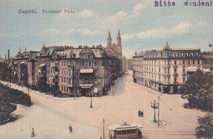 LIEGNITZ, Poland, 1900-1910s; Breslauer Platz