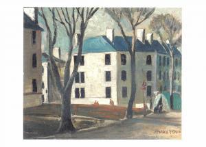 Postcard Art Fleming Houses, Dundee (c1931) James McIntosh Patrick MU2652 #2763