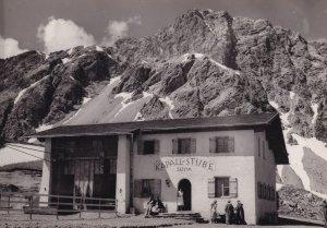 Kapall Stube Anton Austria Hotel Old Real Photo Postcard