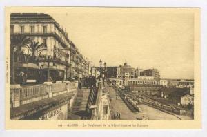 ALGER.-Le Boulevard de la Republique et les Rampes, 1910-30s