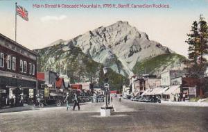 Main Street , BANFF , Alberta, Canada , 1910s