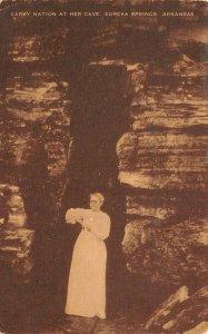 LP31  Carry Nation  Cave  Eureka Springs  Arkansas  High School Postcard