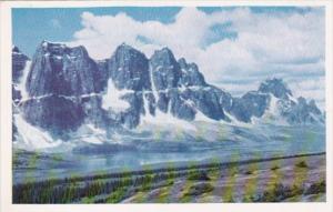 Canada The Ramparts Jasper Park Alberta