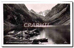 Old Postcard Cauterets Lac de Gaube