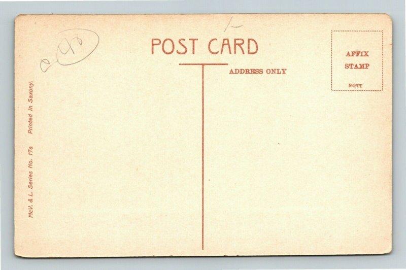Hobart Australia, Parliament House Vintage Postcard