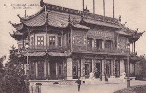 BRUXELLES, Belgium, 1900-1910s; Pavillon Chinois, Bruxelles-Laeken