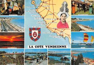 BR53285 La cote Vendeenne map cartes geographiques      France