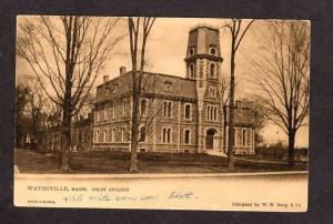 ME Vintage View Colby College Waterville Maine Tuck & Sons Postcard Vintage