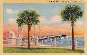 Florida Saint Augustine 72 Bridge Of Lions