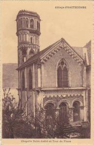 France Abbaye d'Hautecombe Chpelle Saint Andre et Tour du Phare
