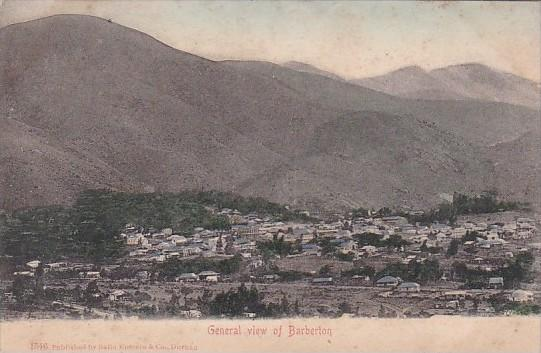 South Africa General View Of Barberton