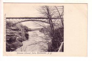 Genesee Lower Falls, Bridge, Rochester, New York, National Art Views