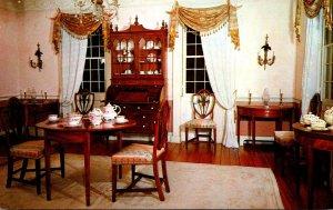 Massachusetts Deerfield Stebbins House South Parlor