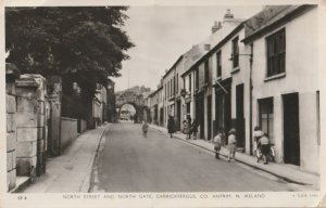 CARRICKFERGUS COUNTY ANTRIM NORTHERN IRELAND POSTED 1958 REAL PICTURE