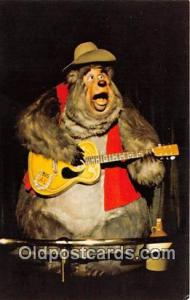 Country Bear Jamboree, Big Al Walt Disney World, FL, USA Postcard Post Card W...
