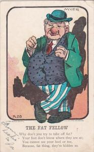 Humour The Fat Fellow 1907