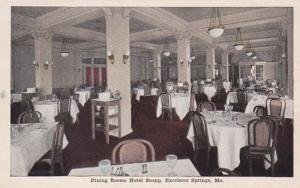 Missouri Excelsior Springs Hotel Snapp Dining Room 1951