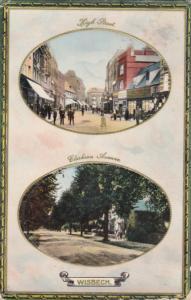 WISBECH (Cambridgeshire), England, UK, PU-1915 ; TUCK ; High STreet & Clarkso...