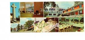 Baker Hotel Gaspe, Quebec, Vintage Advertising Postcard