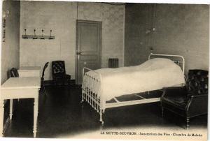CPA Lamotte Beuvron-Sanatorium des Pins-Chambre de Malade (26904)