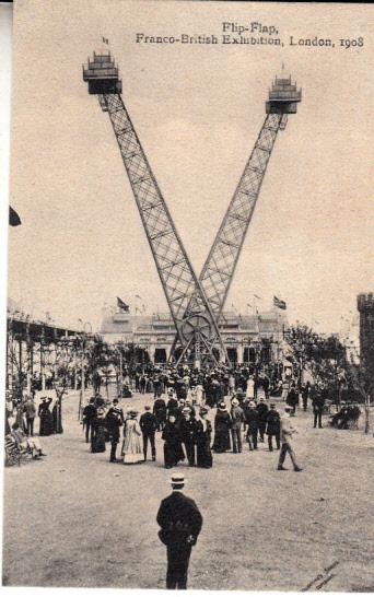 Franco-British Exhibition - Flip-Flap 1908