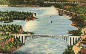 NY - Niagara Falls. New Rainbow Bridge