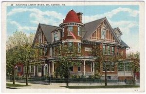 Mt. Carmel, Pa., American Legion Home