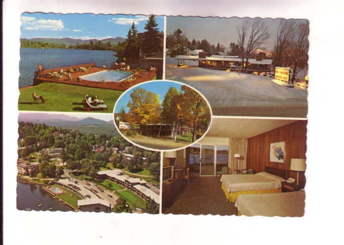 Fiveview, Pool, Winter, Interior, Aerial, Lakeside Motor Inn, New York, Photo...