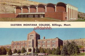 Physical Education Building McMullen Hall EASTERN MONTANA COLLEGE BILLINGS 1962