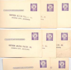 US  Pre-stamped used Postcards UX46 Statue of Liberty