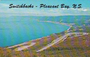 Canada Nova Scotia Cape Breton The Switchbacks At Pleasant Bay