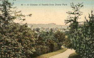 WA - Seattle. View from Denny Park.