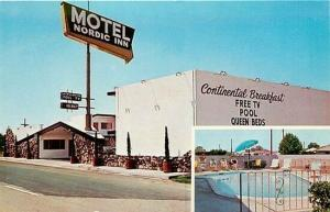 CA, Fresno, California, Nordic Inn Motel