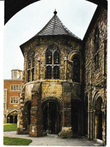 Post Card Kent Canterbury Cathedral The Water Tower Pitkin Pictorial CAN4