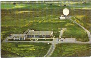 Comstate Communication Dish Antenna Brewster Flat Washington