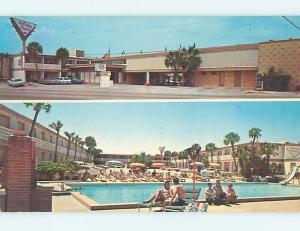 Unused Pre-1980 OLD CARS & HOLIDAY SHORES MOTEL Daytona Beach Florida FL M0452
