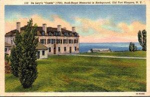 New York Old Fort Niagara De Lery's Castle 1959