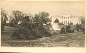 White House and President's Garden - Washington, DC - UDB