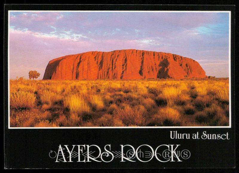 Ayers Rock - Uluru at Sunset