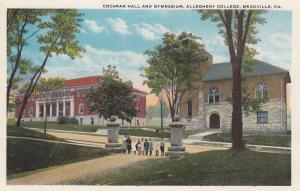 MEADVILLE , Pennsylvania, 00-10s ; Cochran Hall & Gymnasium , Allegheny College