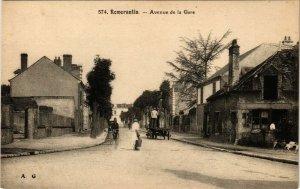CPA ROMORANTIN - Avenue de la Gare (253346)